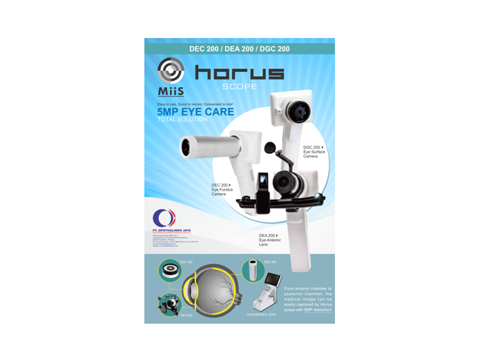 MiiS Portable Fundus 3 in 1