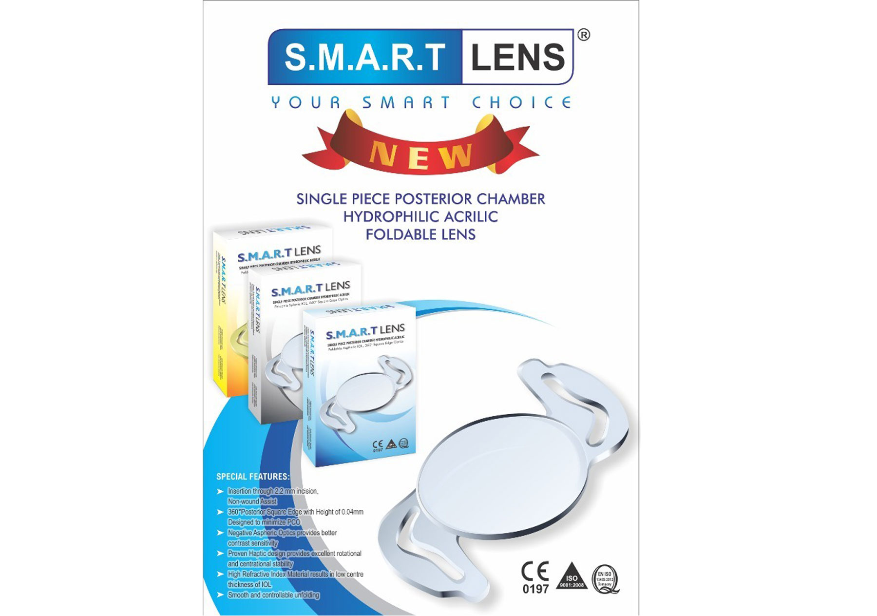 NEW SMARTLENS IOL